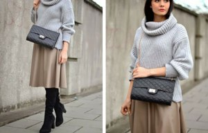 Camel-Midi-Skirt-Winter-Outfit-Idea