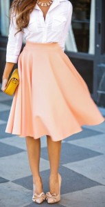 white-blouse-peach-midi-skirt-522x1024